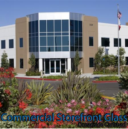 commercial storefront glass oceanside carlsbad window replacement 86
