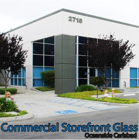 commercial storefront glass oceanside carlsbad window replacement 87