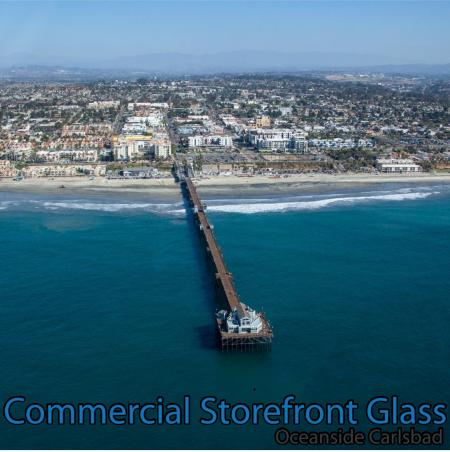 commercial storefront glass oceanside carlsbad window replacement 88